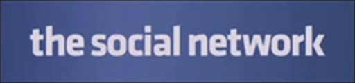 the social network movie logo